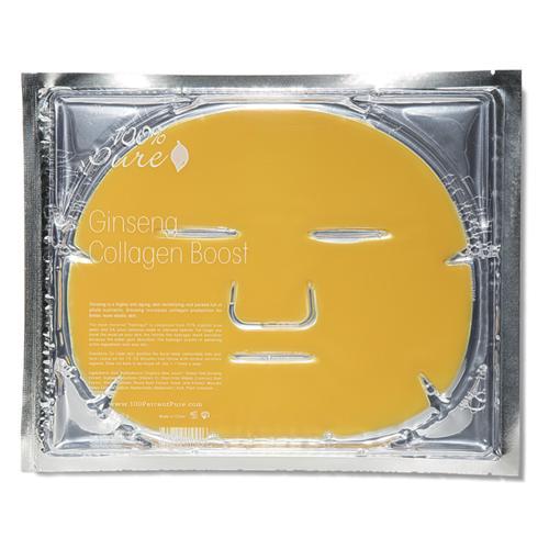 Pleťová stimulační maska Ženšen 100% Pure