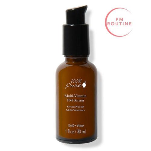 Pleťové noční sérum Multivitamín a antioxidanty 100% Pure