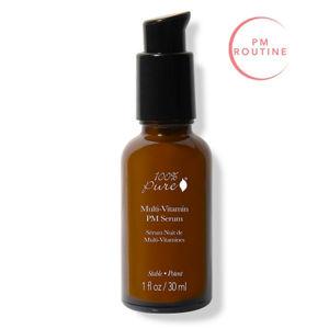 100% Pure Pleťové noční sérum Multivitamín a antioxidanty