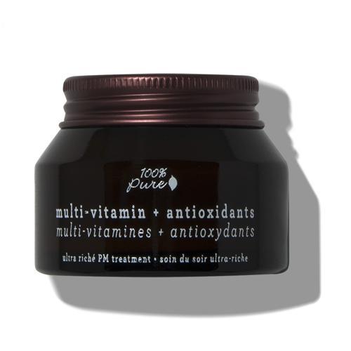 Pleťový noční krém Multivitamín a antioxidanty 100% Pure