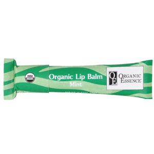 Organic Essence Pomáda na rty Máta