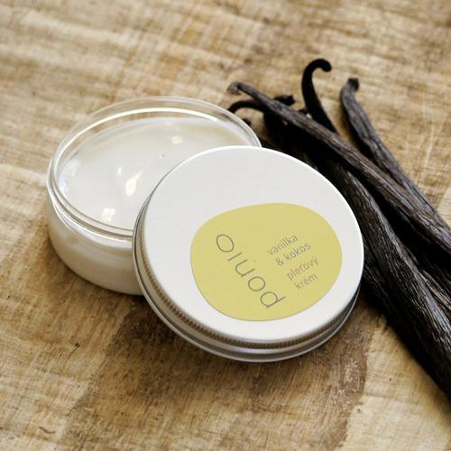Pleťový krém vanilka a kokos Ponio