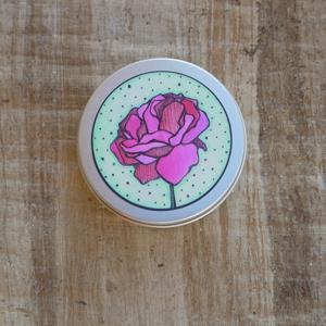 Ponio Přenoska - nižší hliníková plechovka, růže
