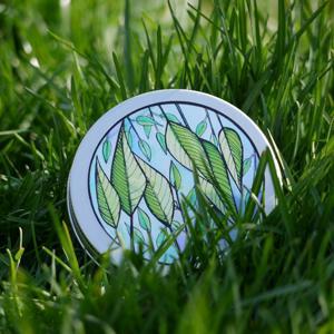Ponio Přenoska - nižší hliníková plechovka, zelené lístky