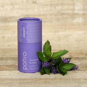 Ponio Přírodní deodorant Levandule a máta