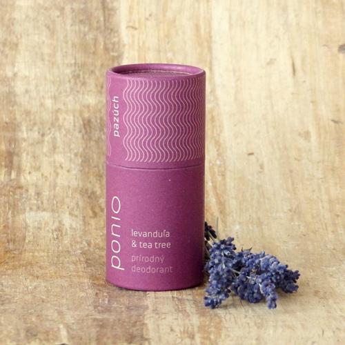 Přírodní deodorant Levandule a Tea tree Ponio