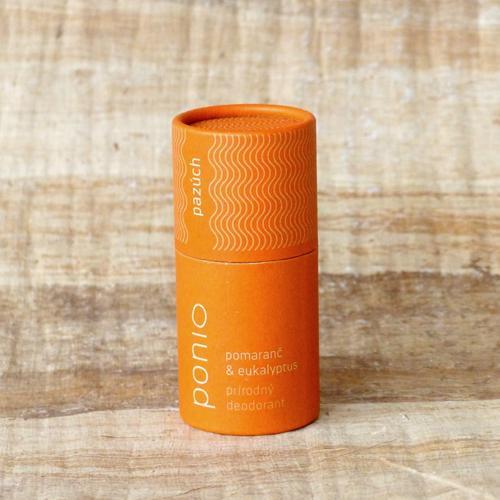 Přírodní deodorant Pomeranč a Eukalyptus Ponio