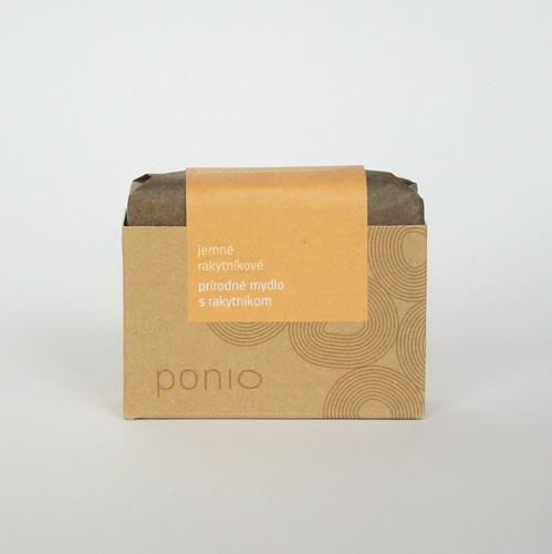 Rakytníkové jemné mýdlo Ponio