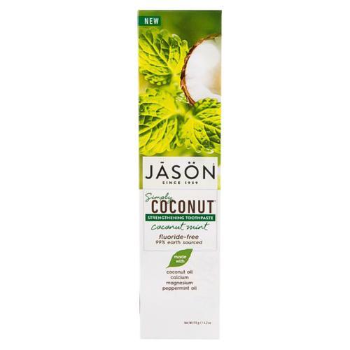 Posilující zubní pasta Simply Coconut Jāsön