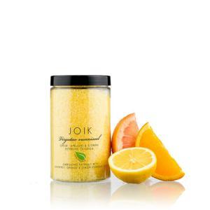 Joik Povznášející koupelová sůl s olejem z citronů, pomerančů a grapefruitu