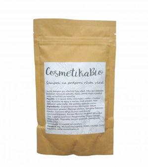 Cosmetikabio COSMETIKABIO Práškový šampon pro podporu růstu vlasů