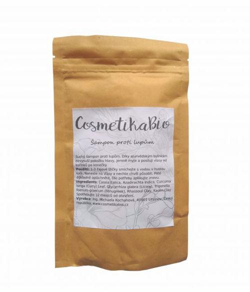 COSMETIKABIO Práškový šampon proti lupům Cosmetikabio
