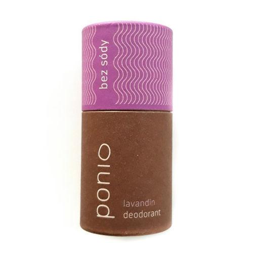 Přírodní bezsodý deodorant Lavandin Ponio
