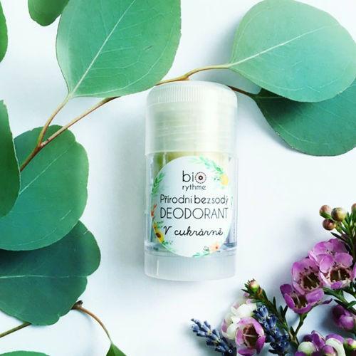 Přírodní bezsodý deodorant V cukrárně (velký) Biorythme