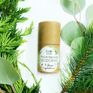Biorythme Přírodní bezsodý deodorant V lese najde(š) se - papírový obal