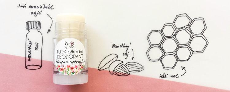 BIORYTHME - Přírodní deodorant Růžová zahrada