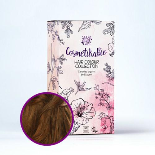 Přírodní hennová barva na vlasy hnědá | Brown Cosmetikabio
