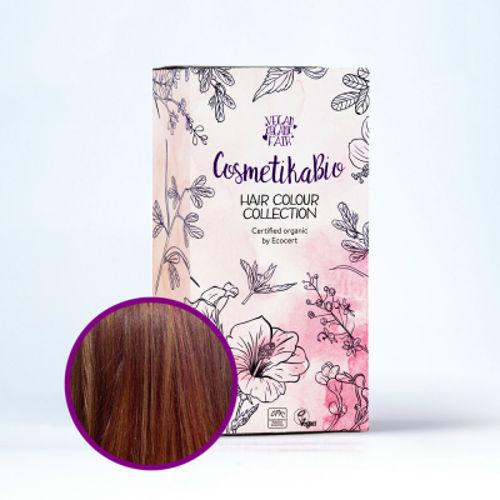 Přírodní hennová barva na vlasy mahagonová | Mahogany Cosmetikabio