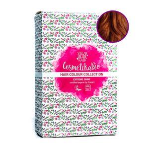 Cosmetikabio Přírodní hennová barva na vlasy měděná hnědá | Copper Brown