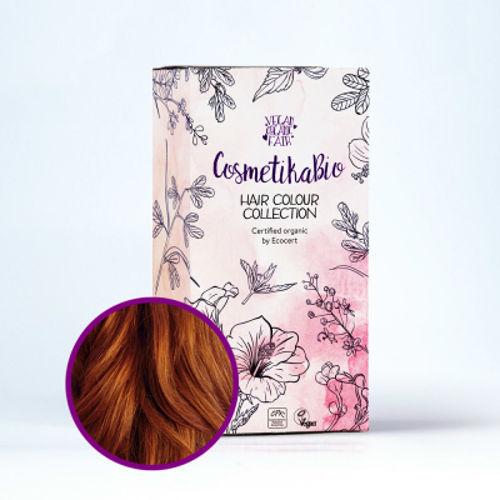 Přírodní hennová barva na vlasy měděná hnědá | Copper Brown Cosmetikabio
