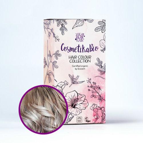 Přírodní hennová barva na vlasy popelavá blond | Ash Blonde Cosmetikabio