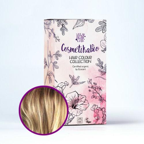 Přírodní hennová barva na vlasy pšeničná blond  | Wheat Blonde Cosmetikabio