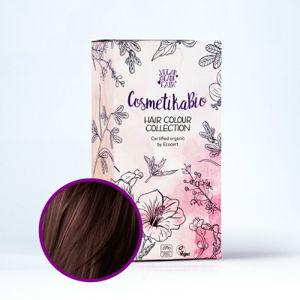 Cosmetikabio Přírodní hennová barva na vlasy tmavě hnědá | Dark Brown