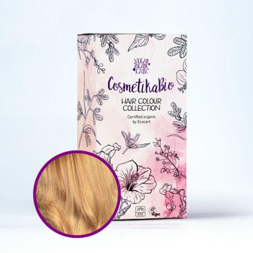 Přírodní hennová barva na vlasy zlatá blond  | Golden Blonde Cosmetikabio