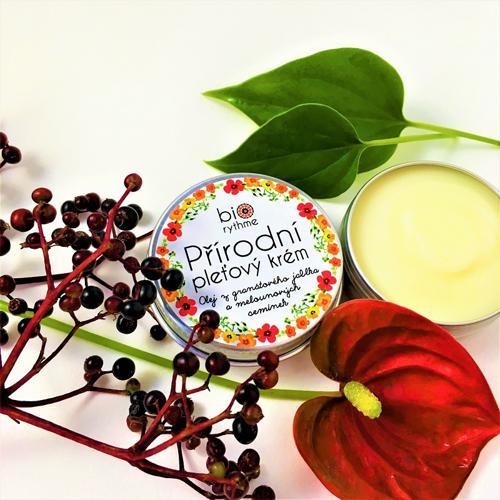 Přírodní krém pro citlivou pleť (30 ml) Biorythme