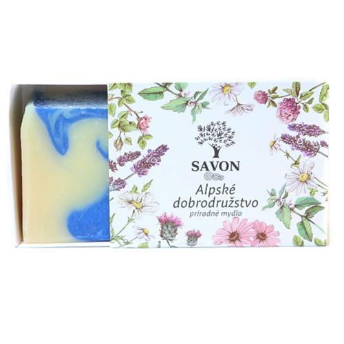 Přírodní mýdlo Alpské dobrodružství Savon