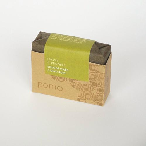 Přírodní mýdlo Čajovník a citrónová tráva Ponio