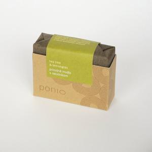 Ponio Přírodní mýdlo Čajovník a citrónová tráva