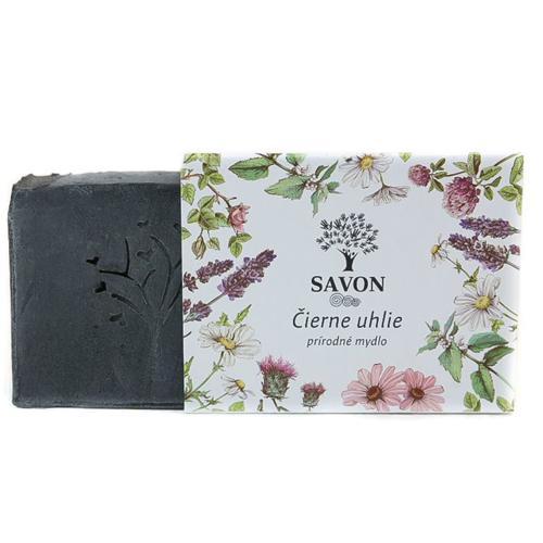 Přírodní mýdlo Černé uhlí Savon