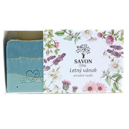 Přírodní mýdlo Letní vánek Savon