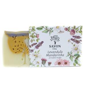 Savon Přírodní mýdlo Levandule Mandarinka