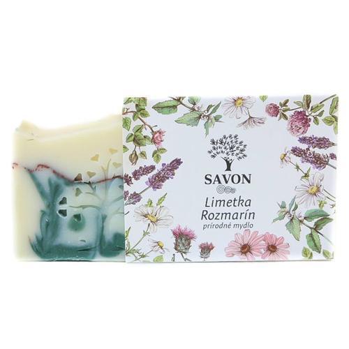 Přírodní mýdlo Limetka Rozmarýn Savon