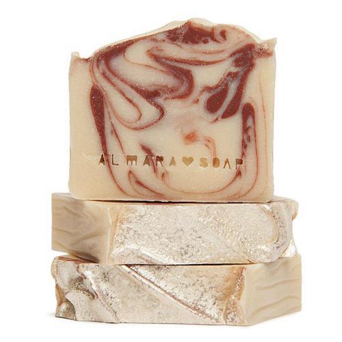 Ručně vyráběné mýdlo Ohnivý Santal Almara Soap