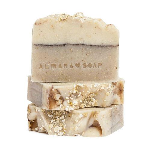 Přírodní mýdlo Ovesný koláč  Almara Soap