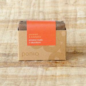 Ponio PONIO přírodní mýdlo Pomeranč & eukalyptus s rakytníkem