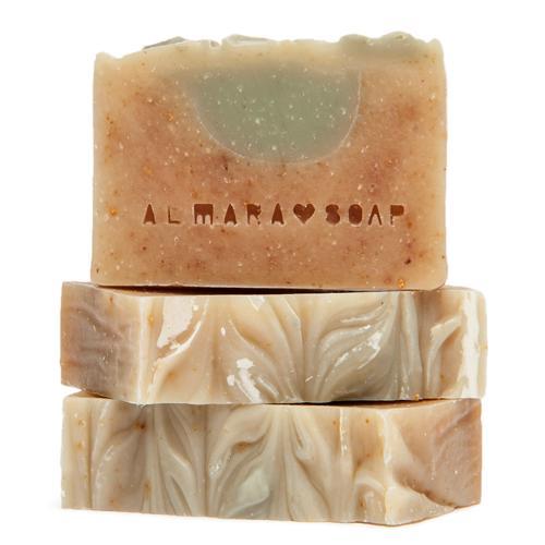 Přírodní mýdlo Tea Tree Lemon expirace 9/2019 Almara Soap