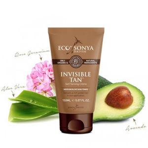 Eco by Sonya Přírodní samoopalovací krém - Invisible Tan