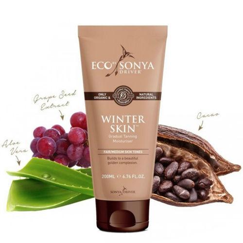 Přírodní samoopalovací mléko - Winter Skin Eco by Sonya