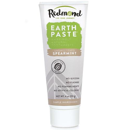 Přírodní zubní pasta s bentonitovým jílem a mátou kadeřavou - bez xylitolu Redmond