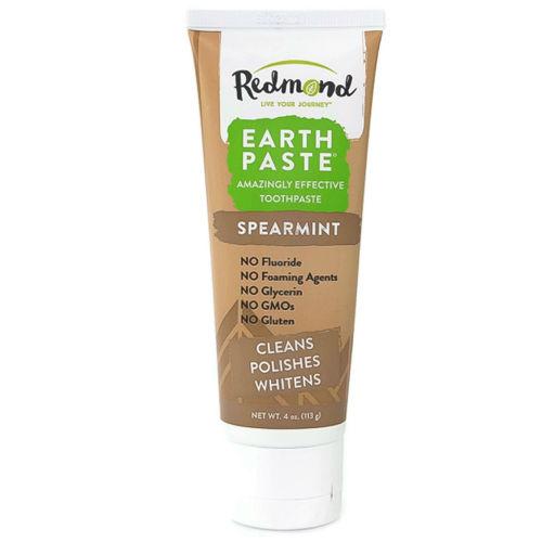 Přírodní zubní pasta s bentonitovým jílem Redmond a mátou kadeřavou expirace 2/2021 Redmond