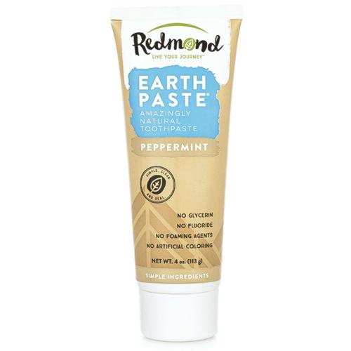 Přírodní zubní pasta s bentonitovým jílem Redmond a mátou peprnou Redmond