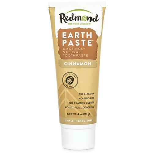 Přírodní zubní pasta s bentonitovým jílem Redmond a skořicovou příchutí Redmond