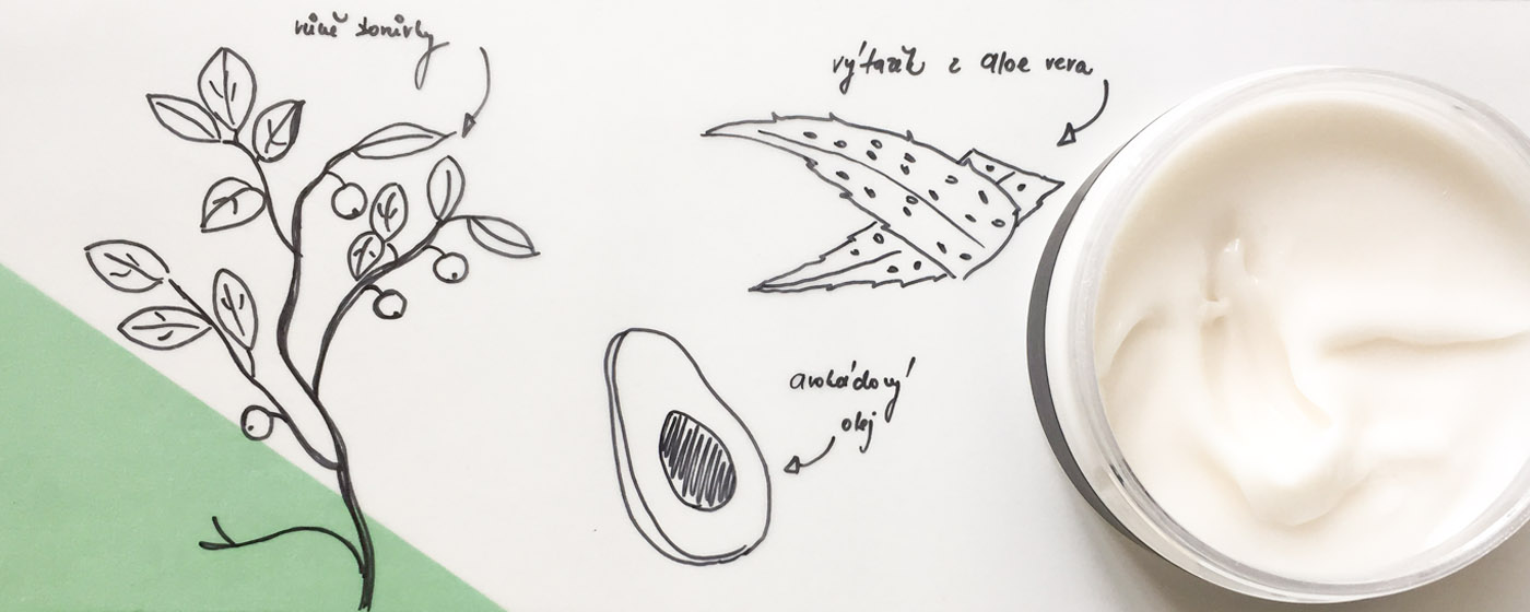 MARA NATURALS - Tělový jogurt Borůvka
