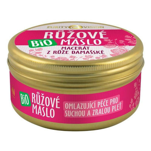 PURITY VISION Bio Růžové máslo 70 ml PURITY VISION