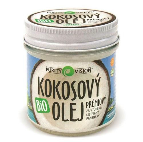 PURITY VISION FAIR TRADE BIO kokosový olej panenský 120 ml PURITY VISION