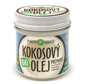 PURITY VISION PURITY VISION FAIR TRADE BIO kokosový olej panenský 120 ml